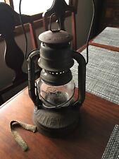 Antique Lantern DIETZ LITTLE WIZARD, Vintage Kerosene Oil Lamp, Clean Nice