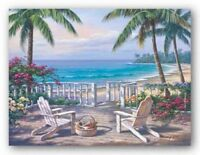 Coastal View Sung Kim Seascape Art Print 16x12