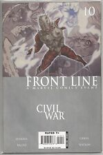Civil War : Front Line #10, Marvel comic book from January 2007