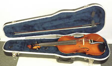 "Lewis "" The Herrmann "" German 4/4 Intermediate Violin Outfit Nice !!"