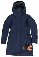 Arc'teryx Womens Patera Parka Gore-Tex 750 Fill Power Goose Down Navy Size Small