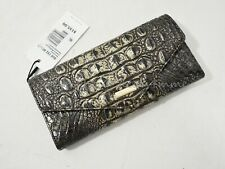 Brahmin Veronica Umbra Melbourne Leather Envelope Style Wallet