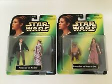 Kenner Star Wars Power of The Force Princess Leia (Han Solo & Wicket the Ewok)