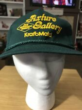 Fixture Gallery Kraftmaid Green  Baseball Cap Snapback Trucker Hat