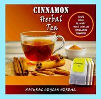 20 Ceylon Cinnamon Tea bags Natural herbal High quality Sri Lankan weight Loss