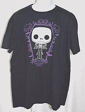 "Disney Nightmare Before Christmas Tim Burton Funko Pop Black 2XL 52"" T Shirt"