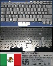 Clavier Qwerty Latino DELL Latitude E6400 NSK-DBC1E. 9Z.N0G82.C1E, 0WP247 Noir