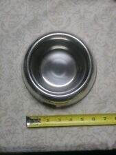 Ikea Metal Pet Dog Cat Water Feeding Dish Bowl New Never Used stainless steel ?