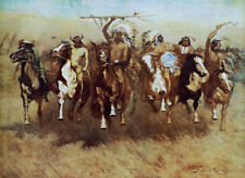Victory Dance by Frederic Remington Indians Canvas Giclee