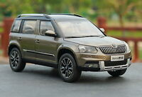 1/18 Scale VW Volkswagen Skoda Yeti SUV Brown Diecast Car Model Collection