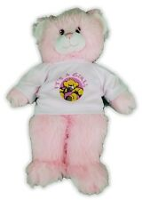 "15"" Build A Bear Bear It'S A Girl Pink Plush 30-4"