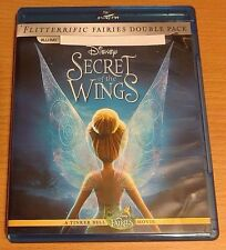 Disney Secret of the Wings NEW Bluray disc/case/cover only-no digital 2012