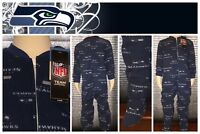 NFL SEATTLE SEAHAWKS TODDLER FOOTED PAJAMA 2T