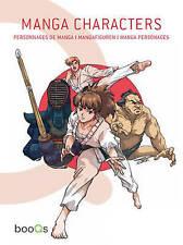 Manga Characters, , Used; Very Good Book