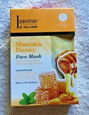 5pc Lanocreme Manuka Honey Nourishing & Revitalizing Face Masks Exp 06/2024; NEW
