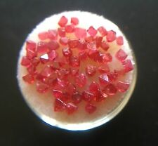 NATURAL Uncut Pink Red Spinel Octahedra Crystal 1 Carat Lot Rough Octahedral
