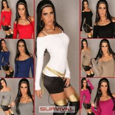 Regular Size Solid Sexy Jumpers & Cardigans for Women