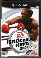 Knockout Kings 2003 GameCube PAL Nintendo Includes Manual - Buy 2 Get 1