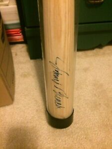 JOHNNY BENCH AUTOGRAPH RAW BAT W/COA JOHNNY BENCH ONE OF A KIND