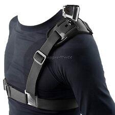 Pro Single Shoulder Chest Strap Mount Harness Belt For GoPro/ SJCAM/ XIAO YI