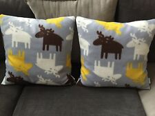 Cozy Winter/Deer Themed Fleece Pillow Case/Cover 20x20