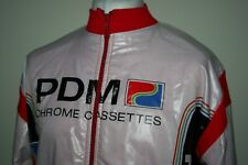 PDM Chrome Cassettes Team Ultima Winter Cycling Jacket XXXL 3XL Rare Vintage Top
