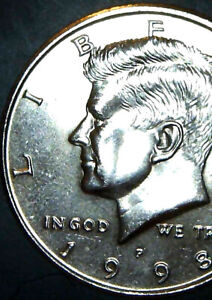 1998 P Half Dollar DOUBLE DIE Super Rare! And, UNCIRCULATED! DD FRONT AND BACK