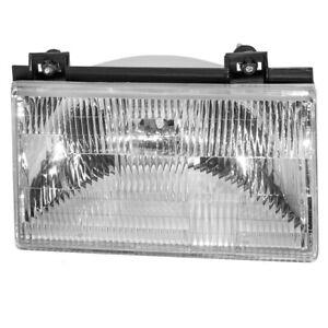 Passengers Headlight Headlamp Housing DOT for 92-94 Ford Tempo Mercury Topaz