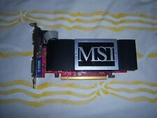MSI GeForce N8400GS-TD256H 256MB PCI-e Graphics Video Card VGA DVI S-Video