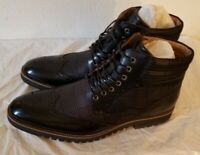 Brand New In Box Stacy Adams Barker Black Men's 10.5 M US Leather lace-up Boots