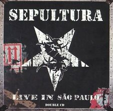 Live In Sao Paulo- Sepultura -CD - BRAND NEW & SEALED- Fast Ship! 2CD Q-107