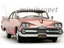 SUN STAR 5481 1959 59 DODGE CUSTOM ROYAL LANCER 1/18 DIECAST ROSE QUART / CORAL