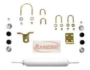 Rancho RS97345 Steering Stabilizer; Single Kit