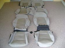 HYUNDAI SANTA FE SEAT COVERS OEM FACTORY ORIGINAL TAN CLOTH TAKE OFFS 2011-14