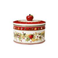 VILLEROY & BOCH Winter Bakery Delight Keksdose Gebäckdose 13 cm Porzellan XMAS