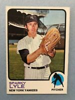 1973 Topps Baseball Card #394  Sparky Lyle New York Yankees