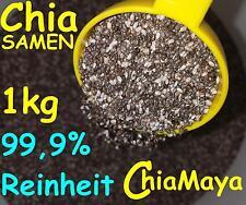 1 kg chiasamen PURO MAYA CHIA - Semi FIBRA DIETETICA soppressore appetito