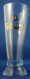 BITBURGER Germany 0.25L BEER PILSNER Glass Man Cave ADVERTISING Collectable Aust