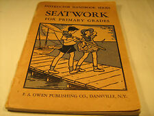 Paperback SEATWORK FOR PRIMARY GRADES Instructor Handbook Series 1935 [Y38]