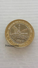 NEW*2014*UNC* FALKLAND ISLANDS WWI NAVAL BATTLE £2 TWO POUND COIN