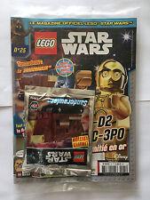 FRENCH LEGO STAR WARS MAGAZINE N°25 SEALED MINT POLYBAG SANDCRAWLER NEUF