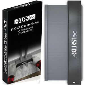 KLRStec® Konturenlehre – Premium Modell (Extra breit) Profi Nadelschablone