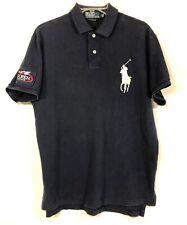 Polo Ralph Lauren Mens Size Large Blue US Open 2009 Big Pony Golf Polo Shirt