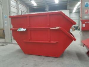Absetzcontainer Absetzmulde Bauschuttcontainer 10 m³ offen asymmetrisch