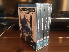 TRANSFORMERS: 4-FILM COLLECTION Limited Edition Blu-Ray Steelbook *BRAND NEW*