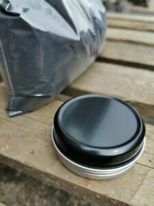 1kg JET BLACK RAL9005 SATIN Powder for Powder Coating use