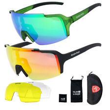 3 Lens Cycling Glasses Bike Sport Sunglasses Men Women Mountain Bicycle