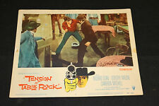 1956 Tension at Table Rock Lobby Card #4 Cameron Mitchell 56/421 (C-5)