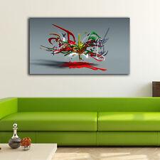 50×90×3cm Graffiti Art Canvas Print Framed Wall Art Home Decor Gift Painting III