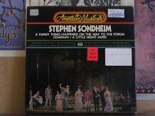 STEPHEN SONDHEIM - AMERICAN MUSICALS 3 LP STL-AM12